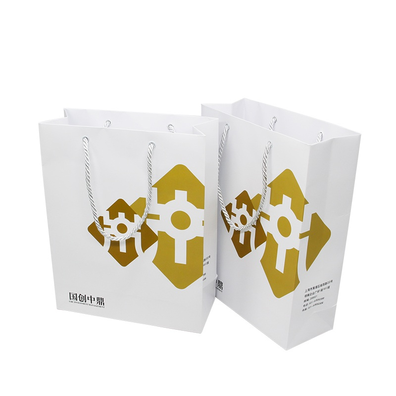 Luxury White Paper Bags